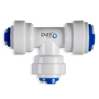 PureOne QF-09B Quick-Fitting - 1/4 x 1/4 x 3/8 Zoll | T-Form